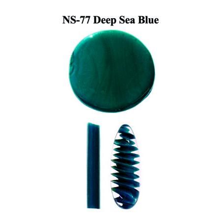 Deep Sea Blue Glass Rod & Glass Frit (NS-77)