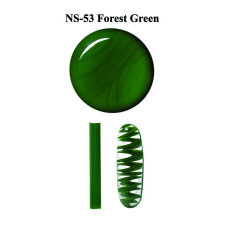 Forest Green Glass Rod & Glass Frit (NS-53)