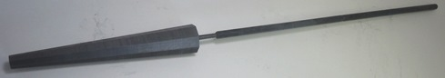 Graphite Octagonal Reamers - Long Handle