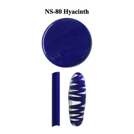 Hyacinth Glass Rod & Glass Frit (NS-80)