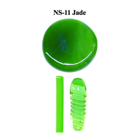 Jade Glass Rod & Glass Frit (NS-11)