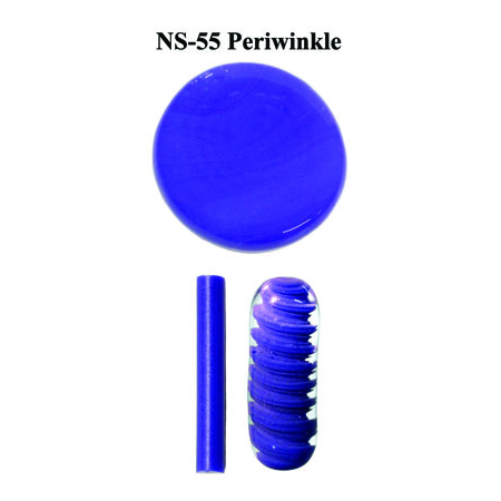 Periwinkle Glass Rod & Glass Frit (NS-55)