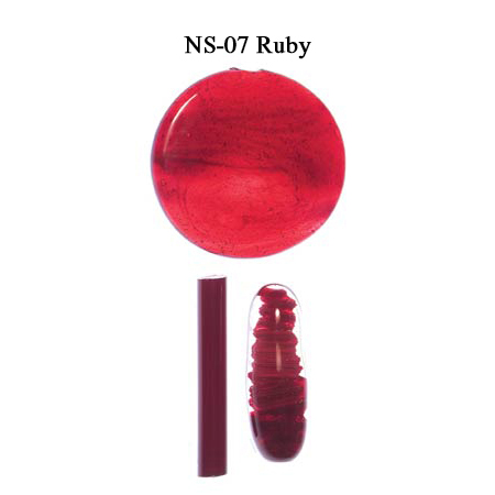 Ruby Glass Rod & Glass Frit (NS-07)